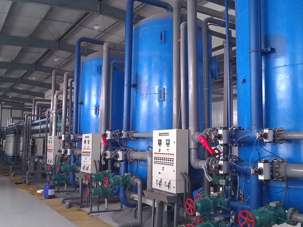 Water reuse desalinated water series
